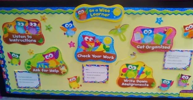 Owl Stars Classroom Decorations