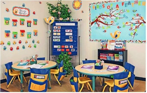 boho birds classroom theme