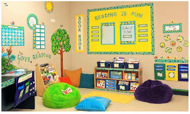 Yellow Classroom Decor ~ Classroom decorations home decorating ideas