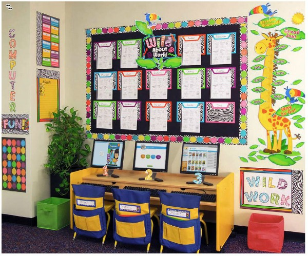 the new wild style classroom theme will appeal to the most fashion
