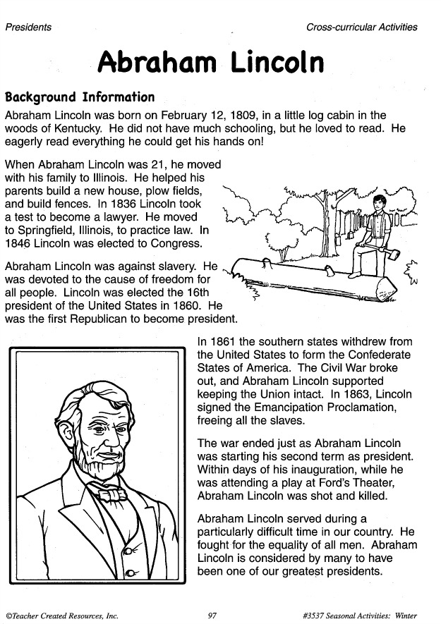 president lincoln a teacher to the country Although he was a president, abraham lincoln's life provides some powerful lessons for teachers: demonstrating restraint, building trust, and the power of predictability and presence.