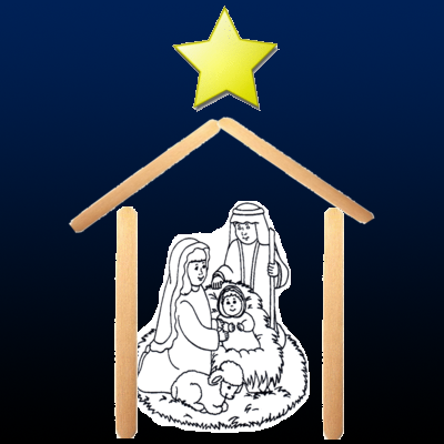Nativity Craft with Popsicle Sticks | O'Block Books & Educational ...