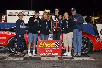Justin Bolton Racing win at Hickory Motor Speedway