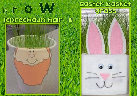 Grass Leprechaun Hair and Easter Basket Filler