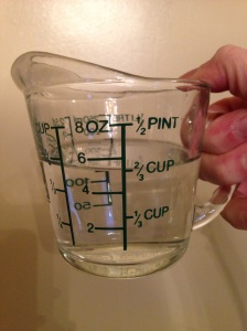 2/3 cup water