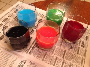 Kool-Aid egg dye