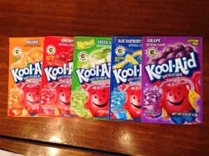 Kool-Aid packets