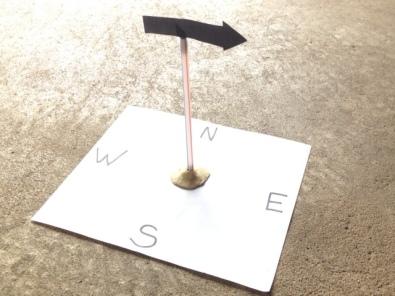 wind experiment - weather vane