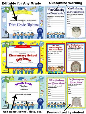 elementary school diplomas