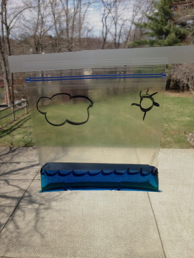water cycle experiment 2