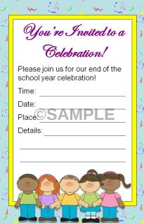 kindergarten end of the year invitation editable