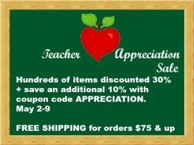 Teacher Appreciation week Sale