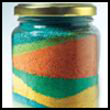 sand art jar