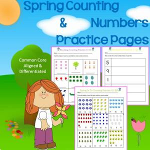 spring counting and numbers
