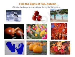 signs of fall, autumn season