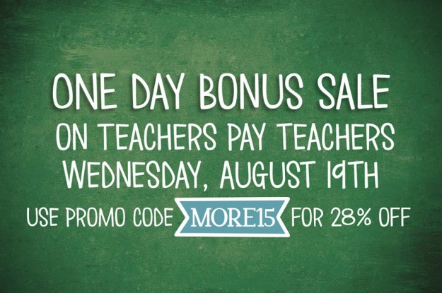 TPT bonus sale day