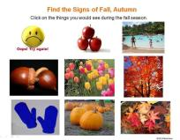 finding signs of fall, autumn