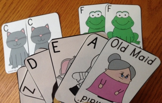 old maid for the alphabet