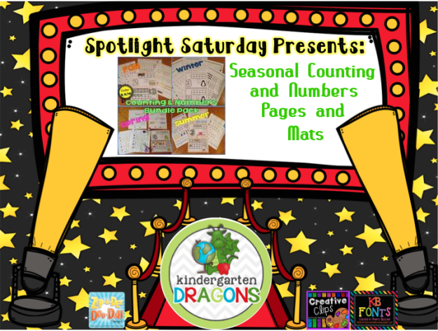 spotlight Saturday counting and numbers bundle