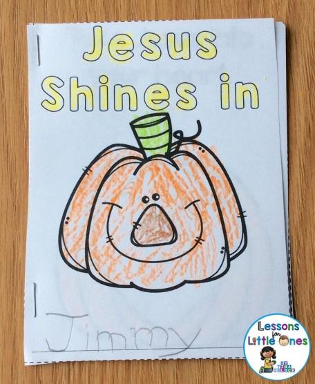Christian pumpkin carving book