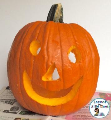 Christian pumpkin carving activity