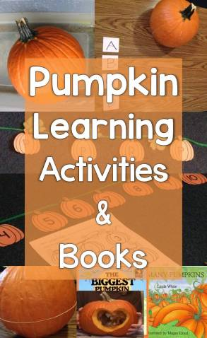 Pumpkin Learning Activities and Books