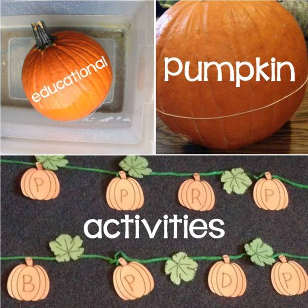 Pumpkin Carving Ideas Science: Pumpkin Learning Activities (letters, Science, Counting