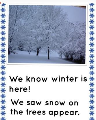 signs of winter digital book