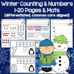 Winter Counting and Numbers Practice
