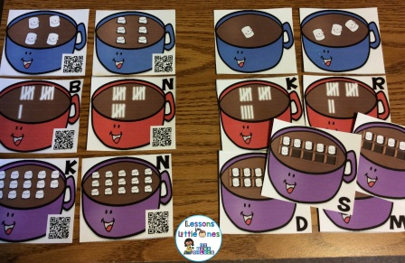 differentiated number sense math cards
