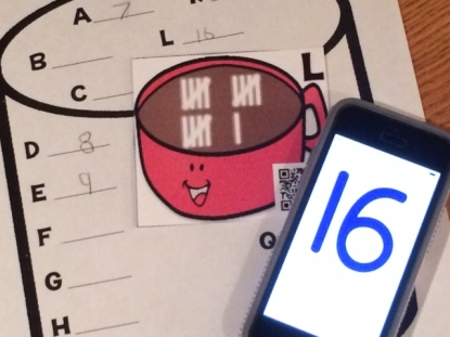 differentiated self-checking QR code task cards and pages