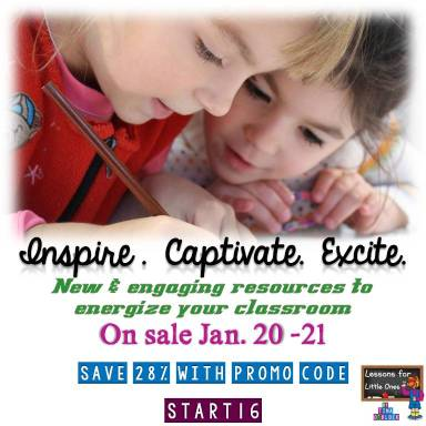 TPT Start Your Year Inspired Sale