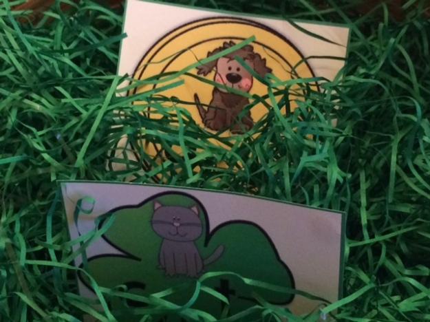 St. Patrick's Day center CVC words