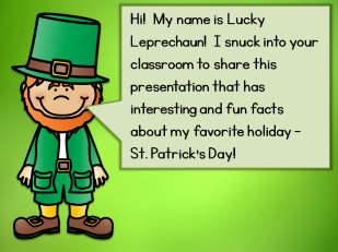 A Sneaky Way to Teach Students about St. Patrick's Day ...