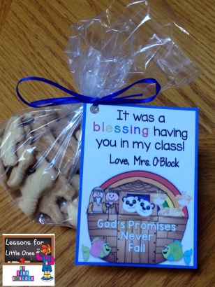 Noah's Ark student gift and gift tag