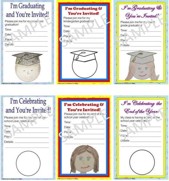 personalized graduation invitations editable