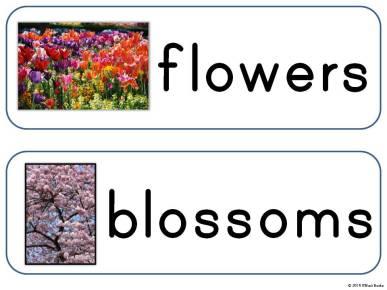 spring season words