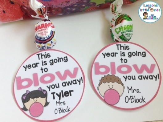 This year is going to blow you away blow pop gift tag
