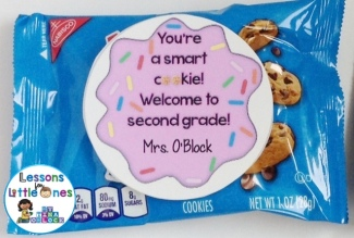 You're a smart cookie student gift tags