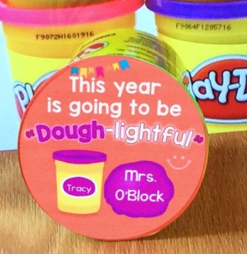 back to school student gift play dough