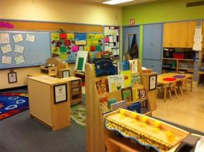 early childhood classroom set up