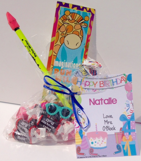 Student Birthday Gift Ideas & Tags, Certificates, & Brag Tags