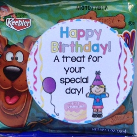 student birthday gift idea and gift tag