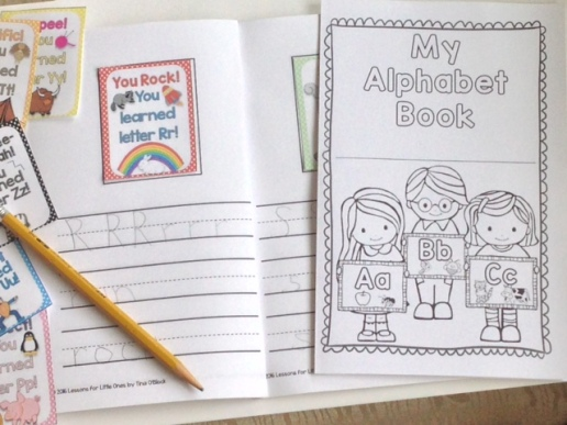 alphabet brag tags book