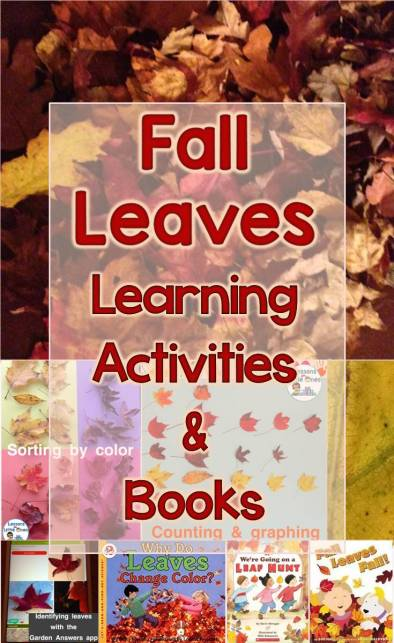 Fall Leaves Learning Activities and Books