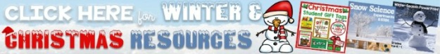 winter and holiday teacher resources discounted