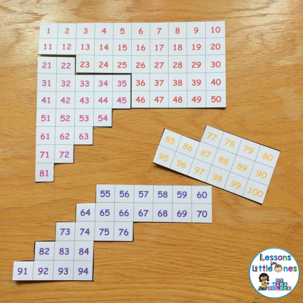 100 chart puzzle