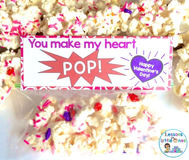 You make my heart pop valentine gift