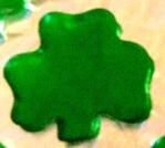 St. Patrick's Day Treat - Shamrock Jello Jigglers