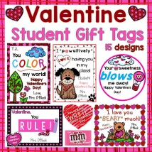 Valentine's Day Student Gift Tags